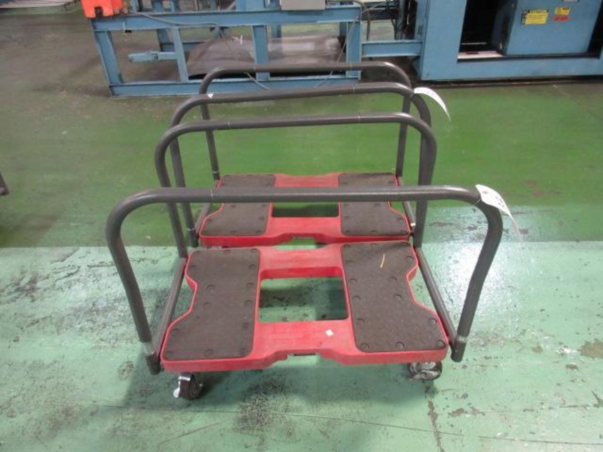 Lot 32 - Snap-Loc Panel Cart Dolly's