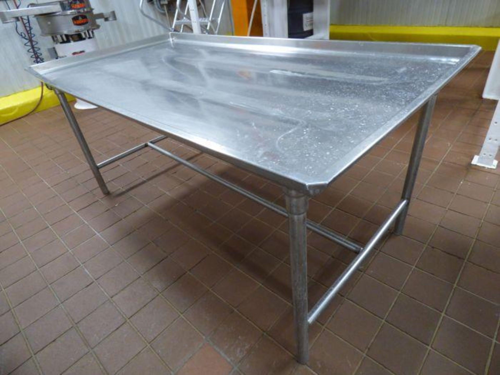 Lot 1054 - Stainless Steel Table