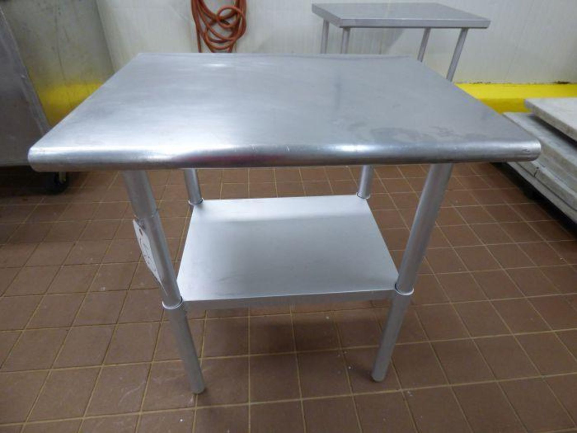 Lot 1065 - Stainless Steel Table