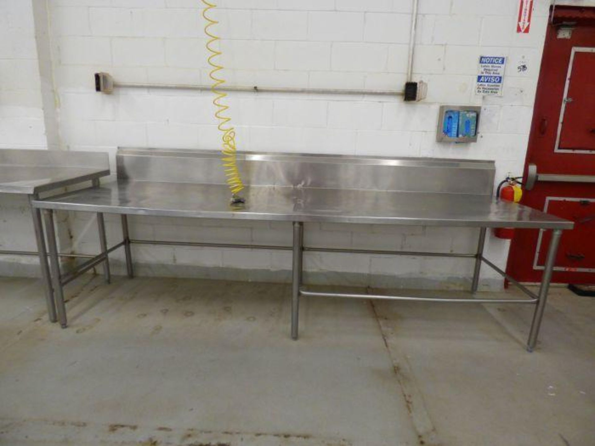 Lot 1241 - Stainless Steel Table