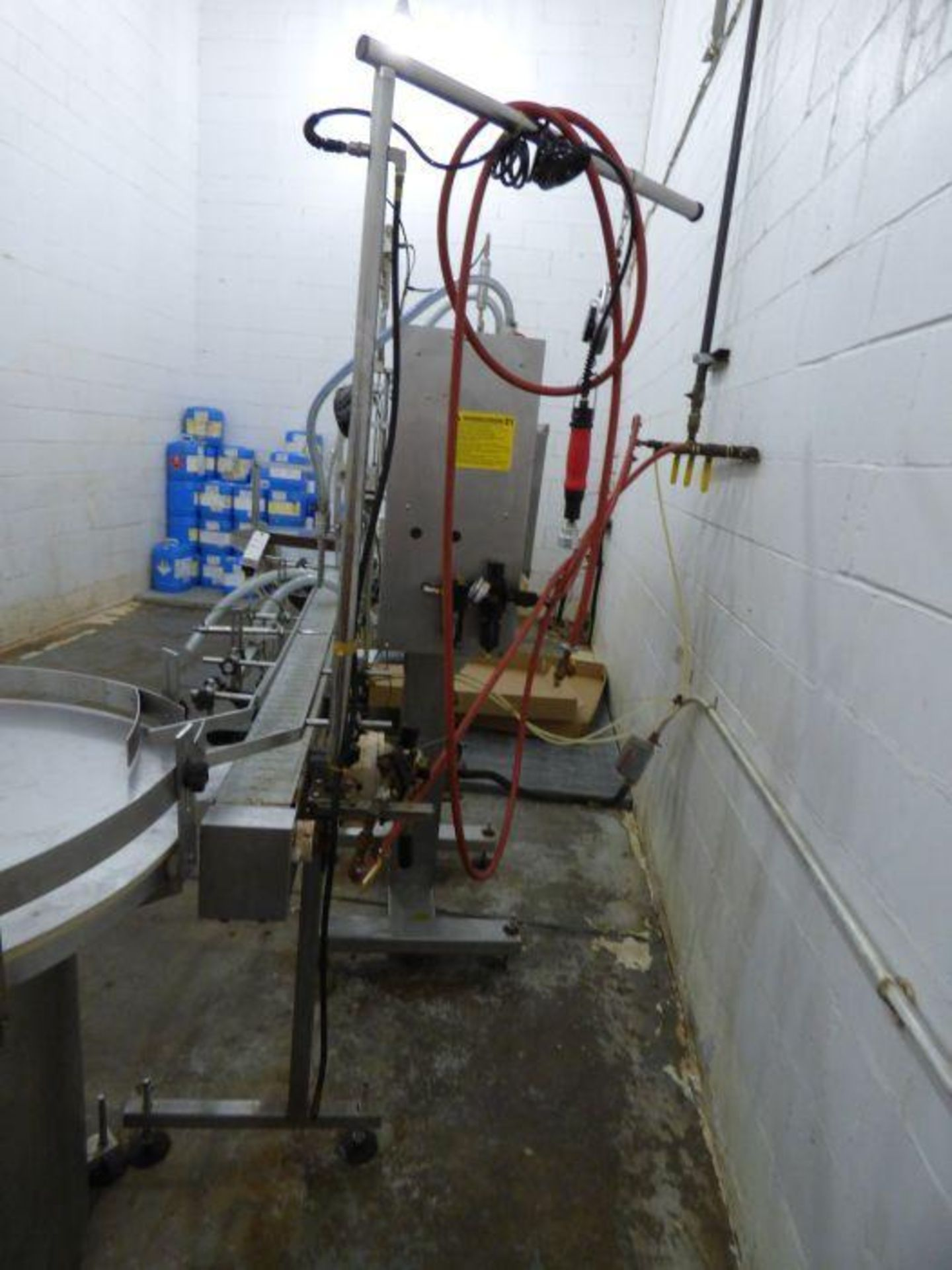 Lot 1223 - Kaps-All Pneumatic Filling Line for Alcohol Based Product
