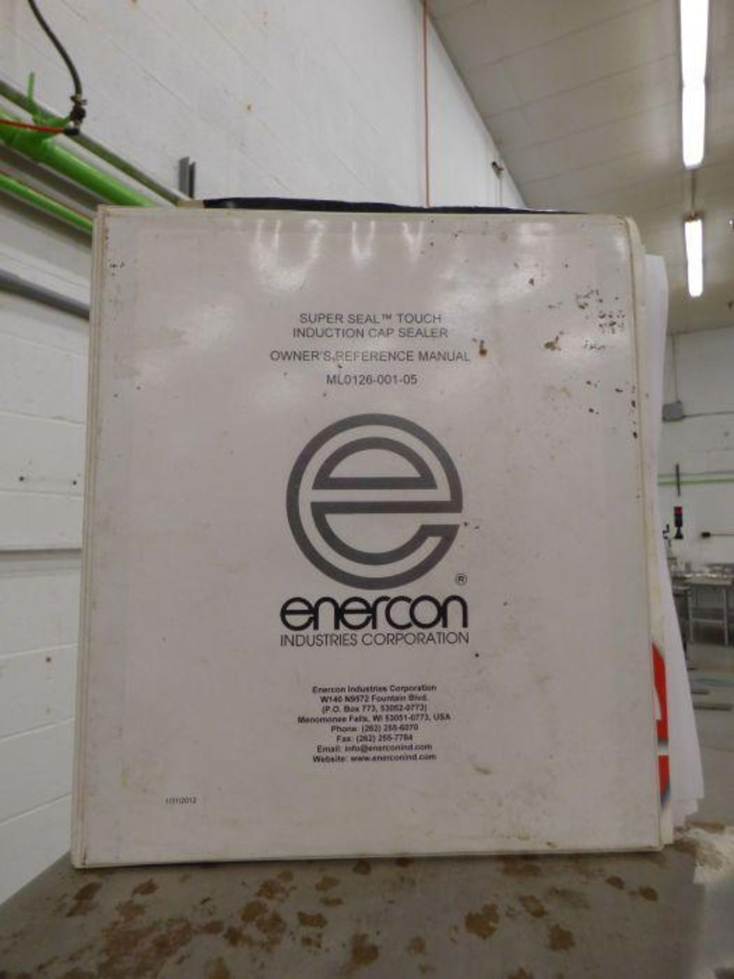 Enercon Super Seal Touch 100 with Spare Parts - Image 11 of 17