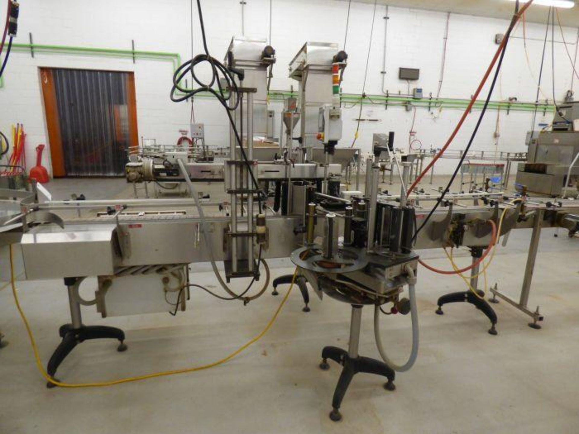 Lot 1206 - 2013 Nita Synerg XP Series Horizontal Front and Back Wipe On Pressure Sensitive Labeler