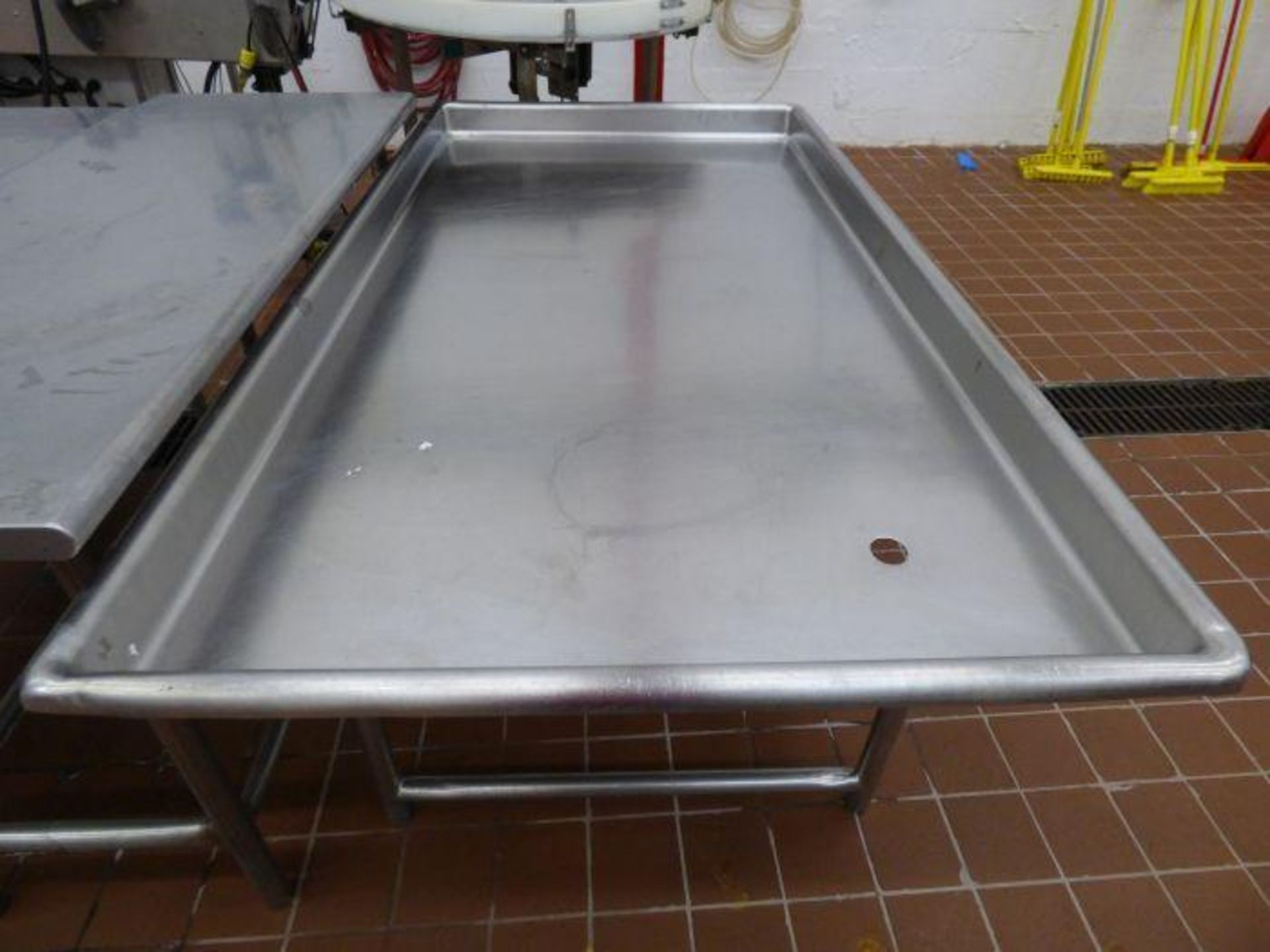 Lot 1120 - Stainless Steel Drain Table