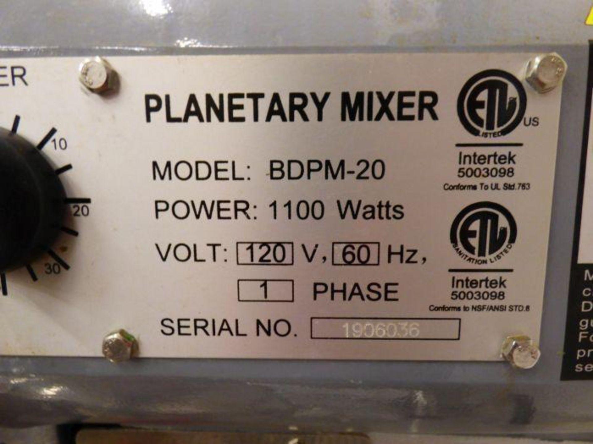 Lot 1024 - Black Diamond 20 Quart Mixer