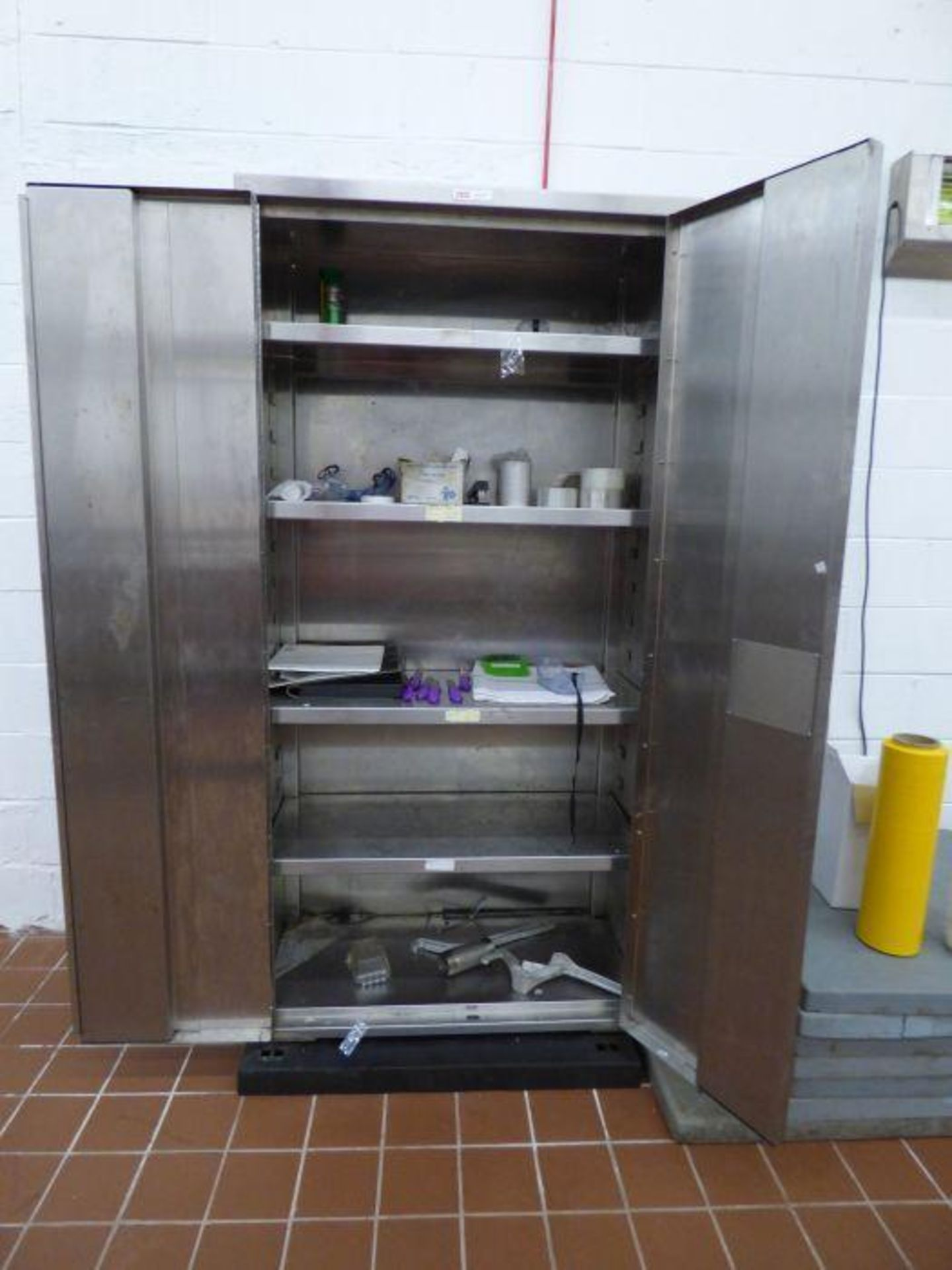 Lot 1136 - Stainless Steel Cabinet