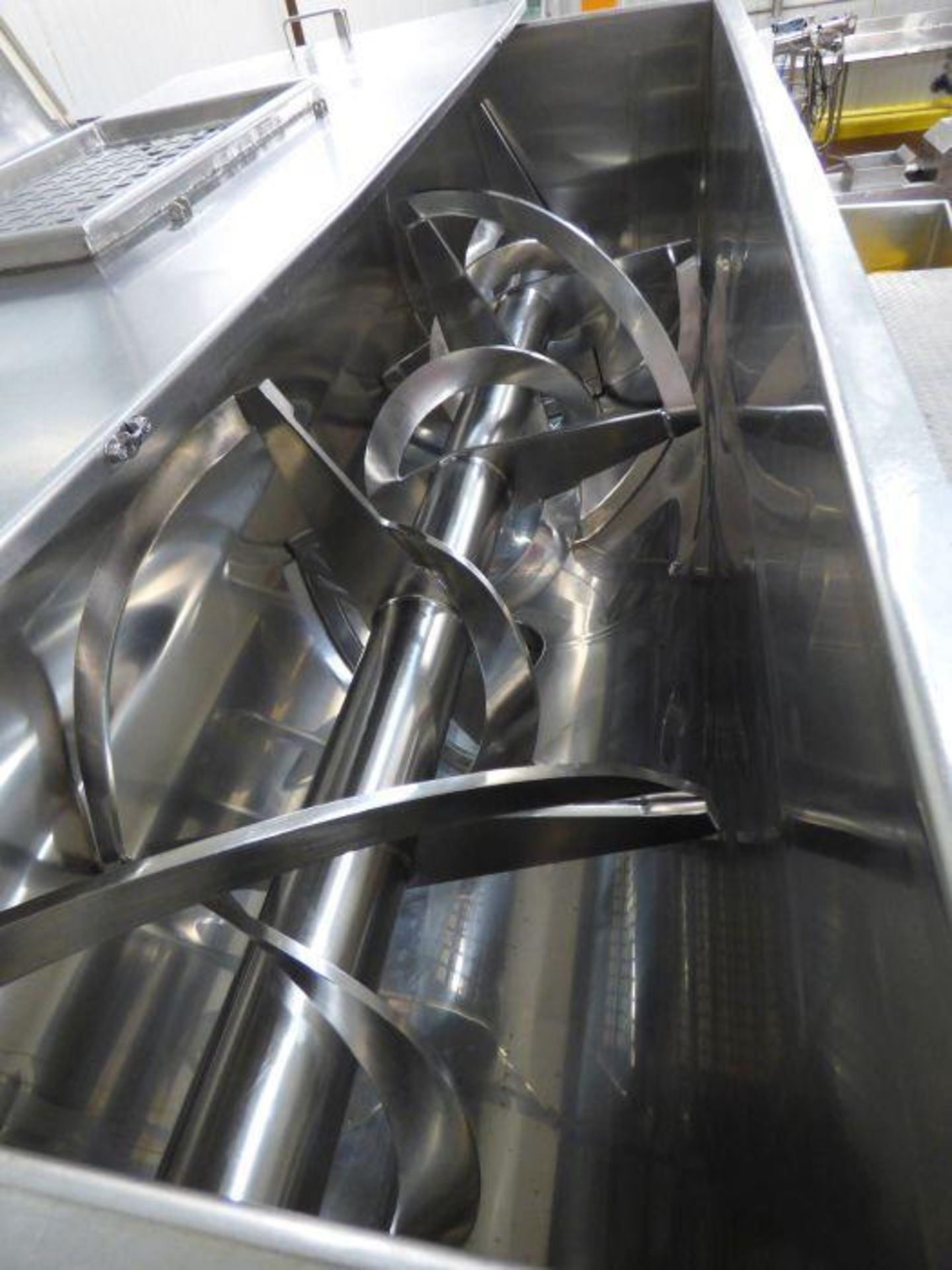 Lot 1060 - Aaron Process Equipment Stainless Steel Horizontal Ribbon Blender