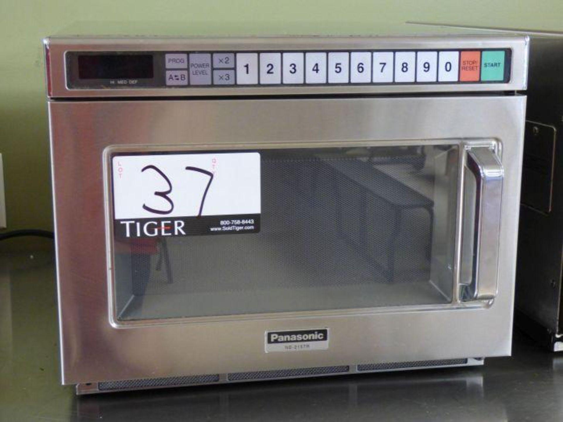 Lot 1037 - Panasonic Commercial Microwave