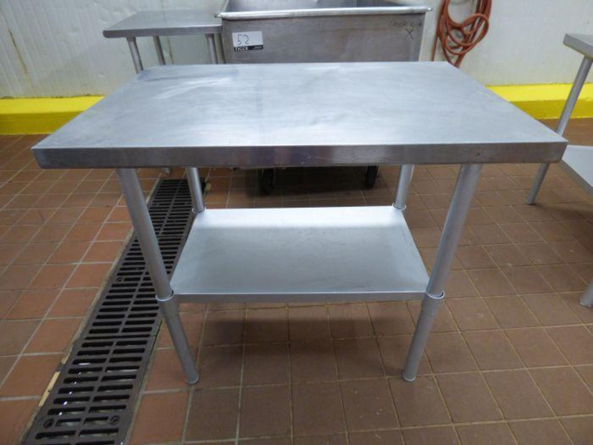 Lot 1062 - Stainless Steel Table