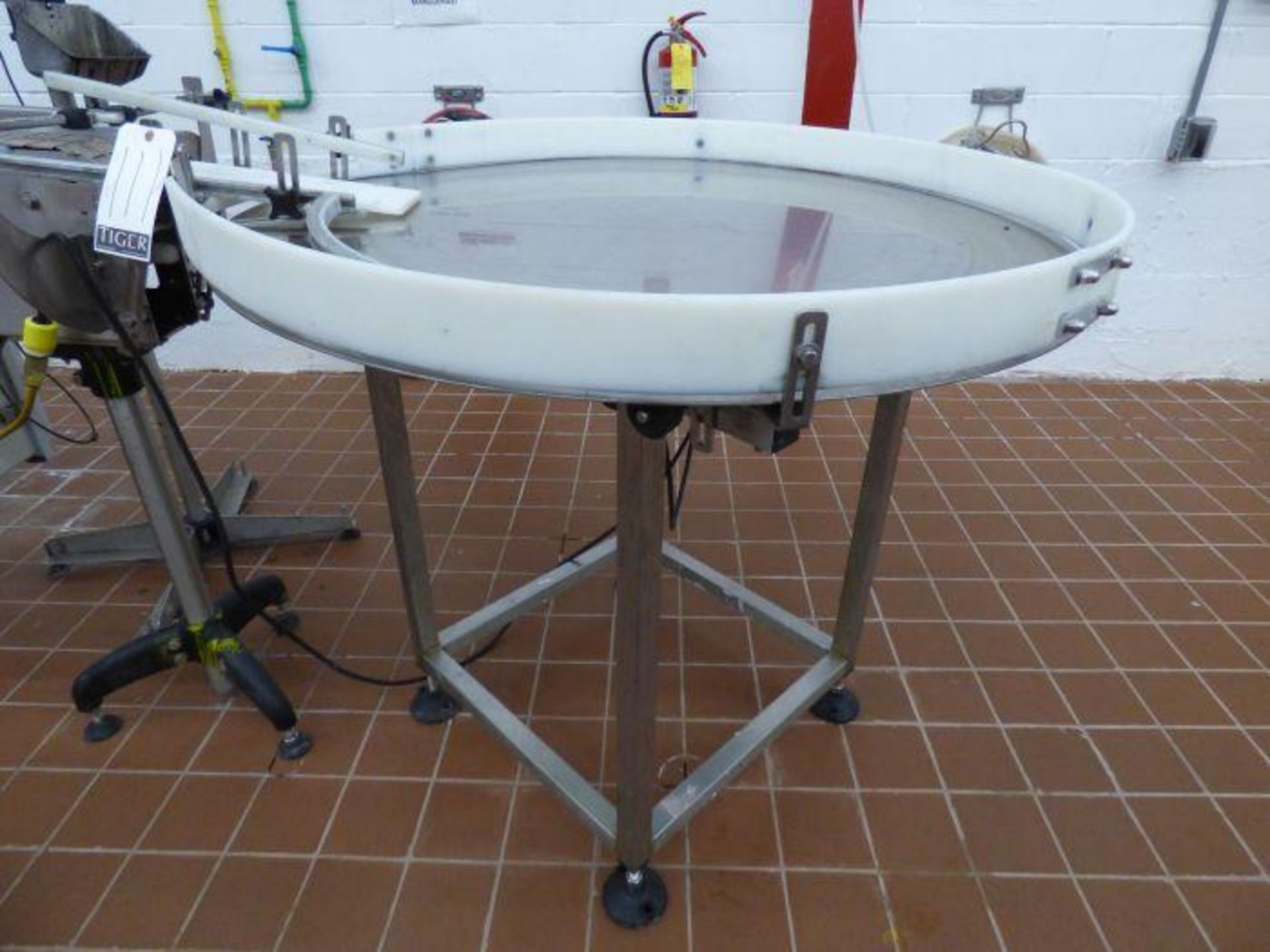 Lot 1111 - Kaps-All Accumulation Table Stainless Steel Top