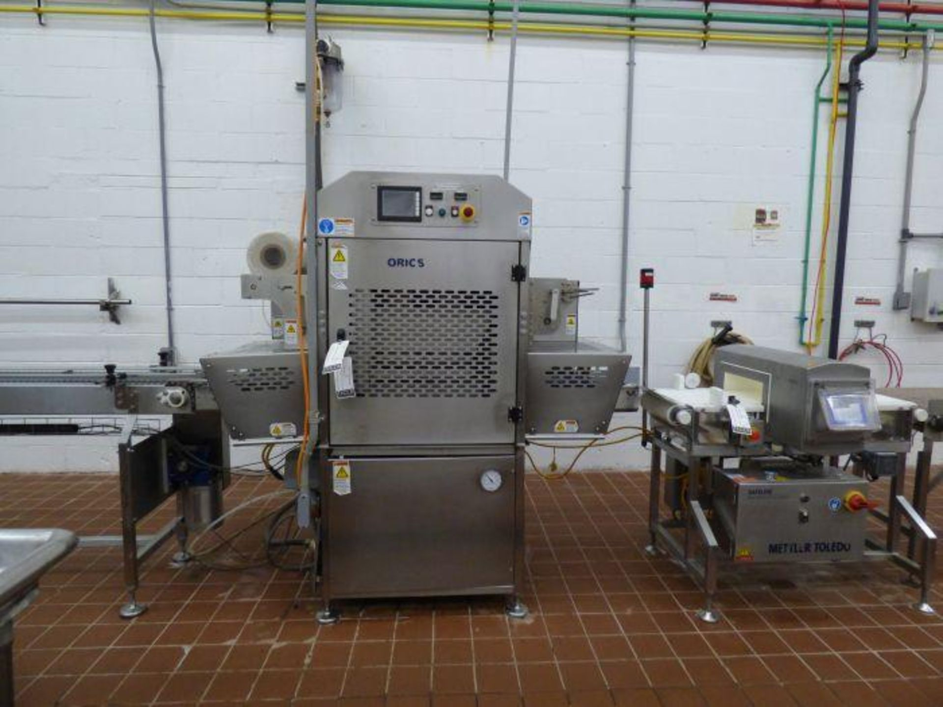 Lot 1112 - Delicatessen Tray Packing and Sealing Line