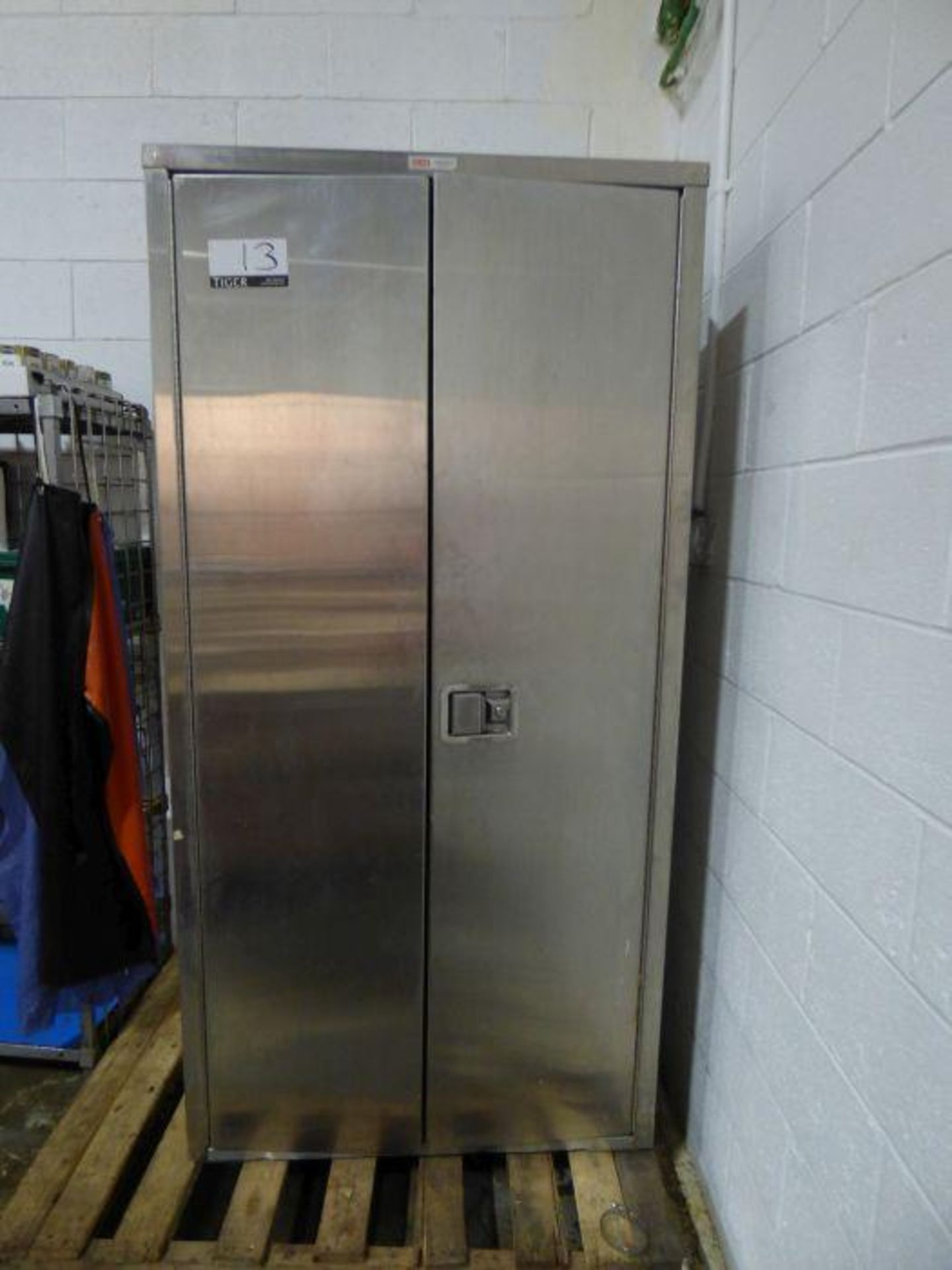 Lot 1013 - Stainless Steel Cabinet