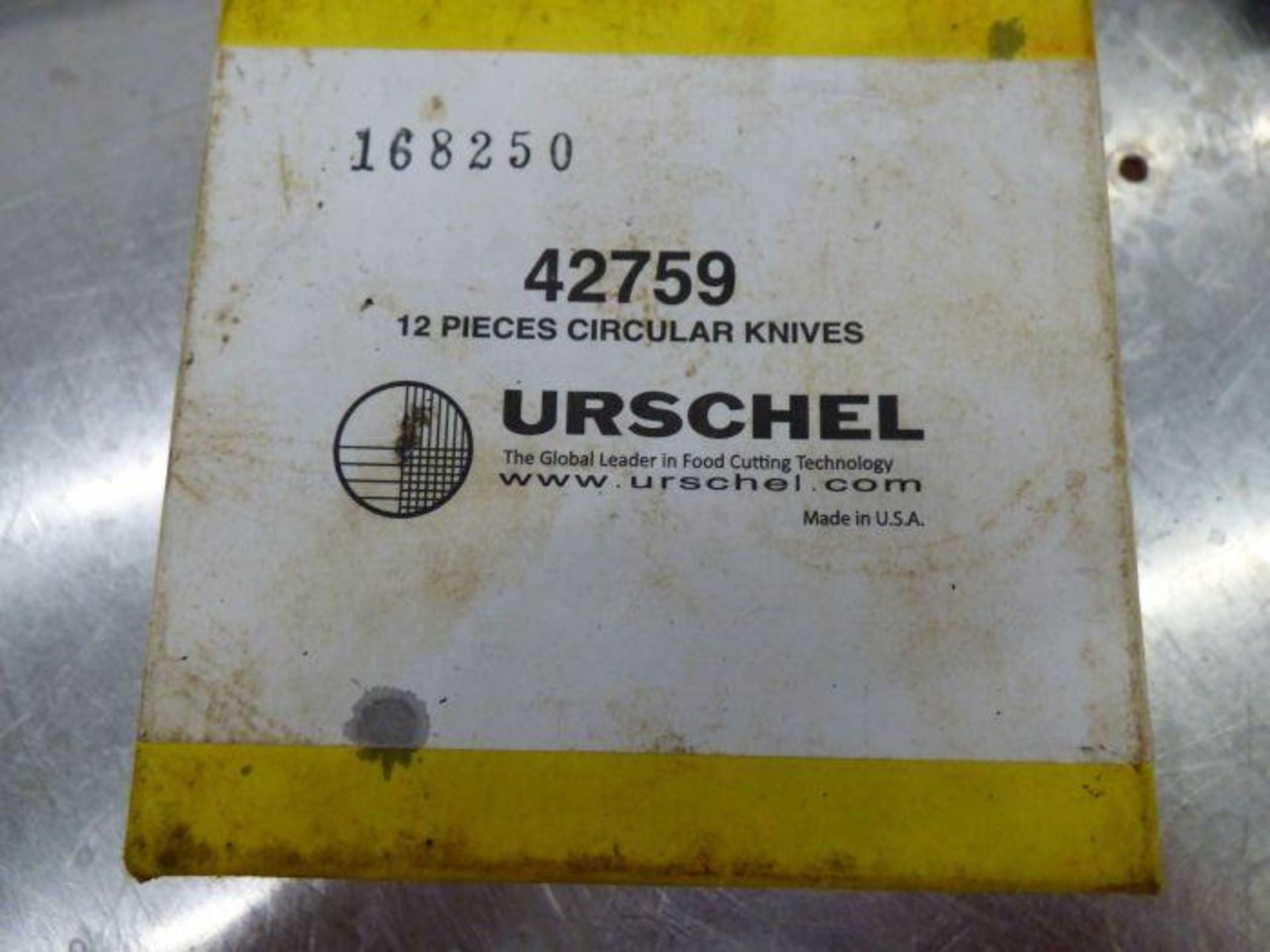 Lot 1124 - 2015 Urshel Stainless Steel Dicer with Spare Parts