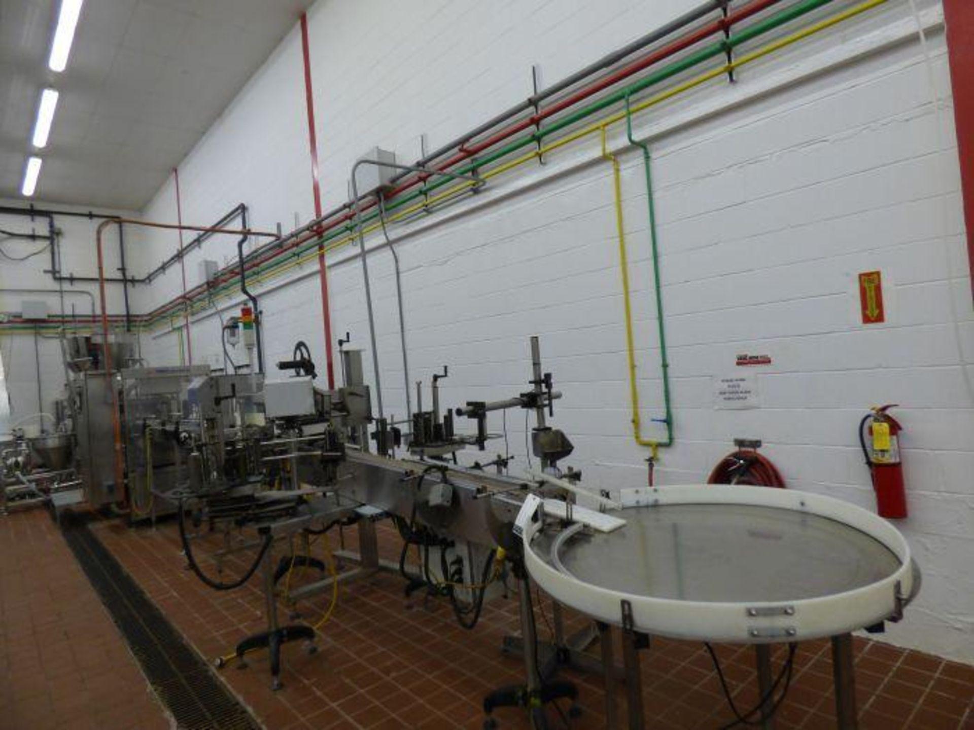 Lot 1107 - Delicatessen Cup Sealing Line