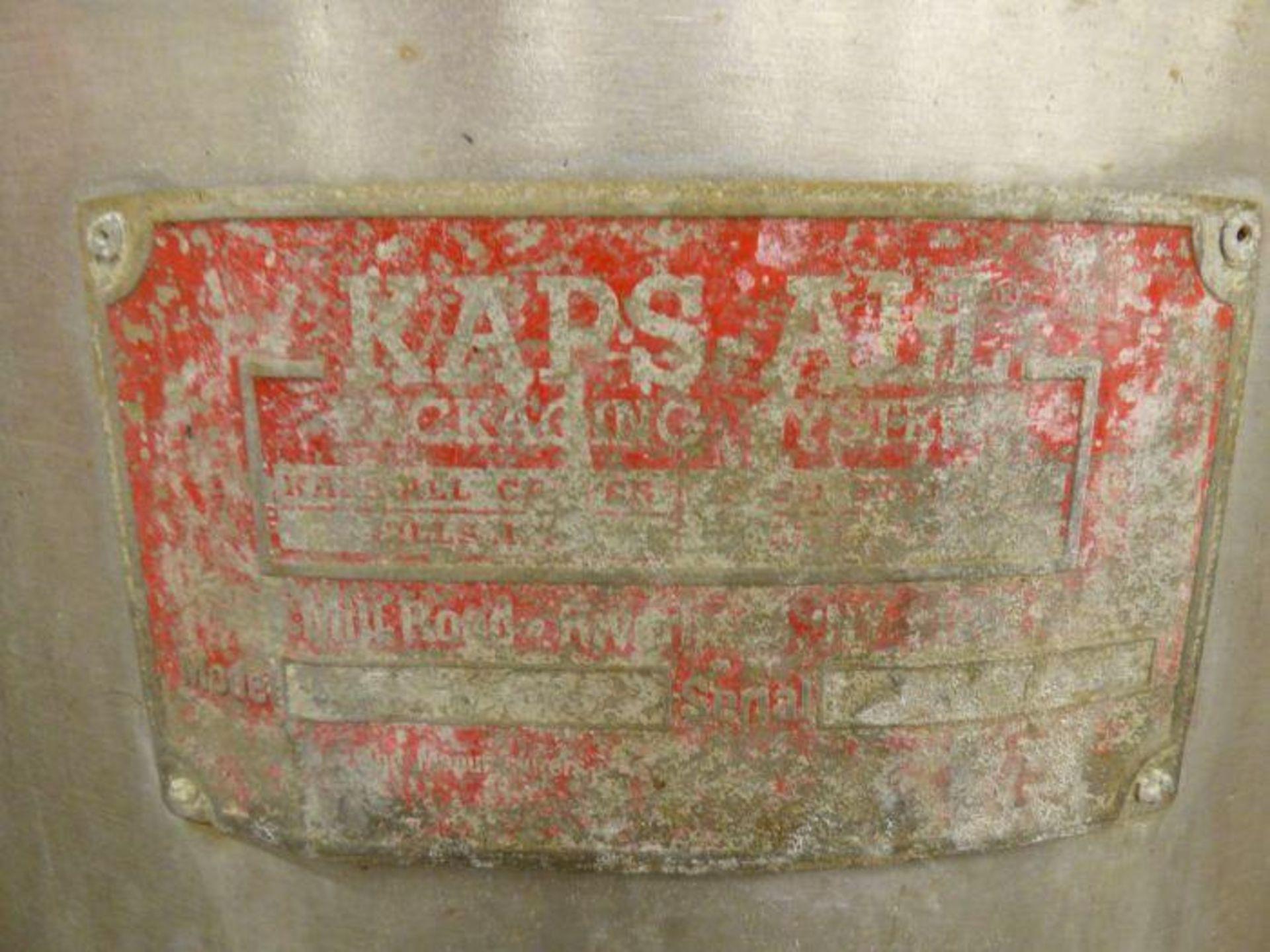 Lot 1216 - Kaps-All Rotary Accumulator Table