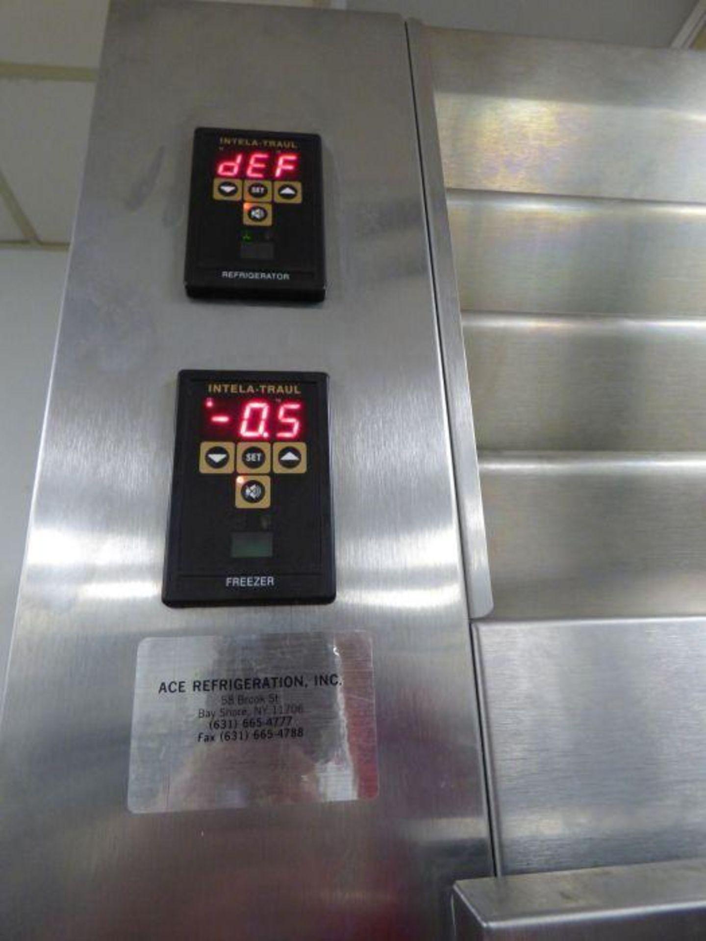 Lot 1048 - Traulsen 2-Door Refrigerator/Freezer Combo