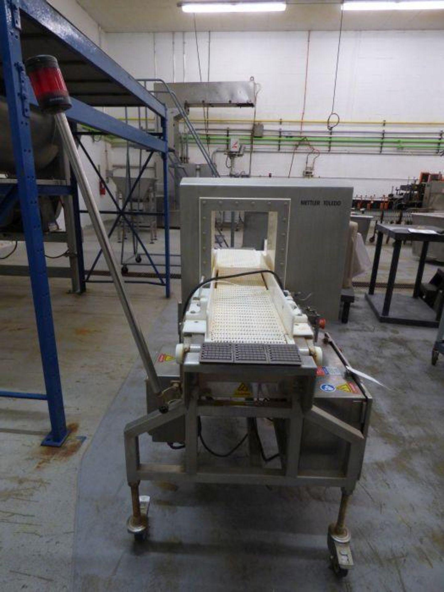 Lot 1187 - 2018 Mettler Toledo Stainless Steel Integrated In-Line Metal Detector