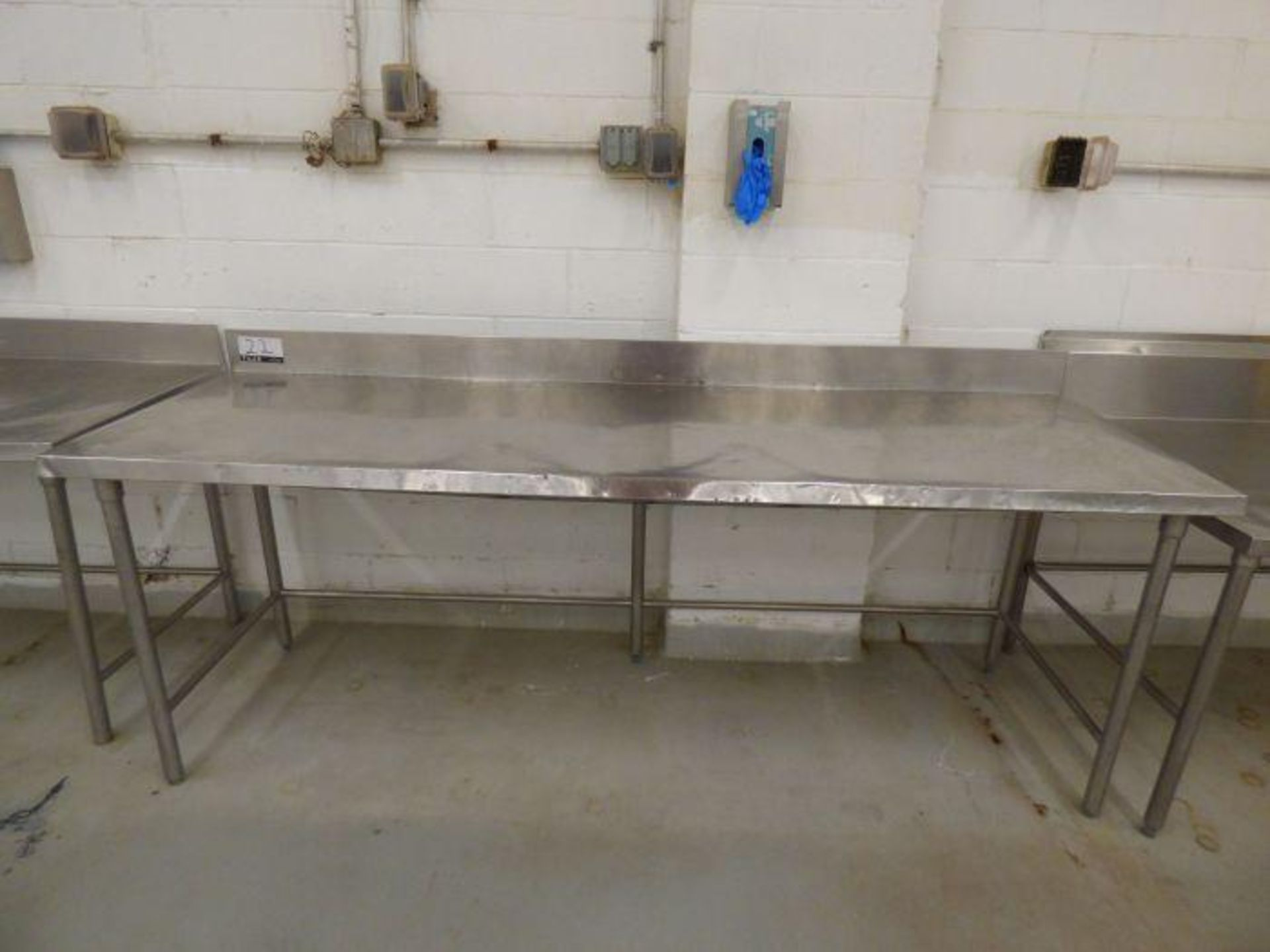 Lot 1022 - Stainless Steel Table