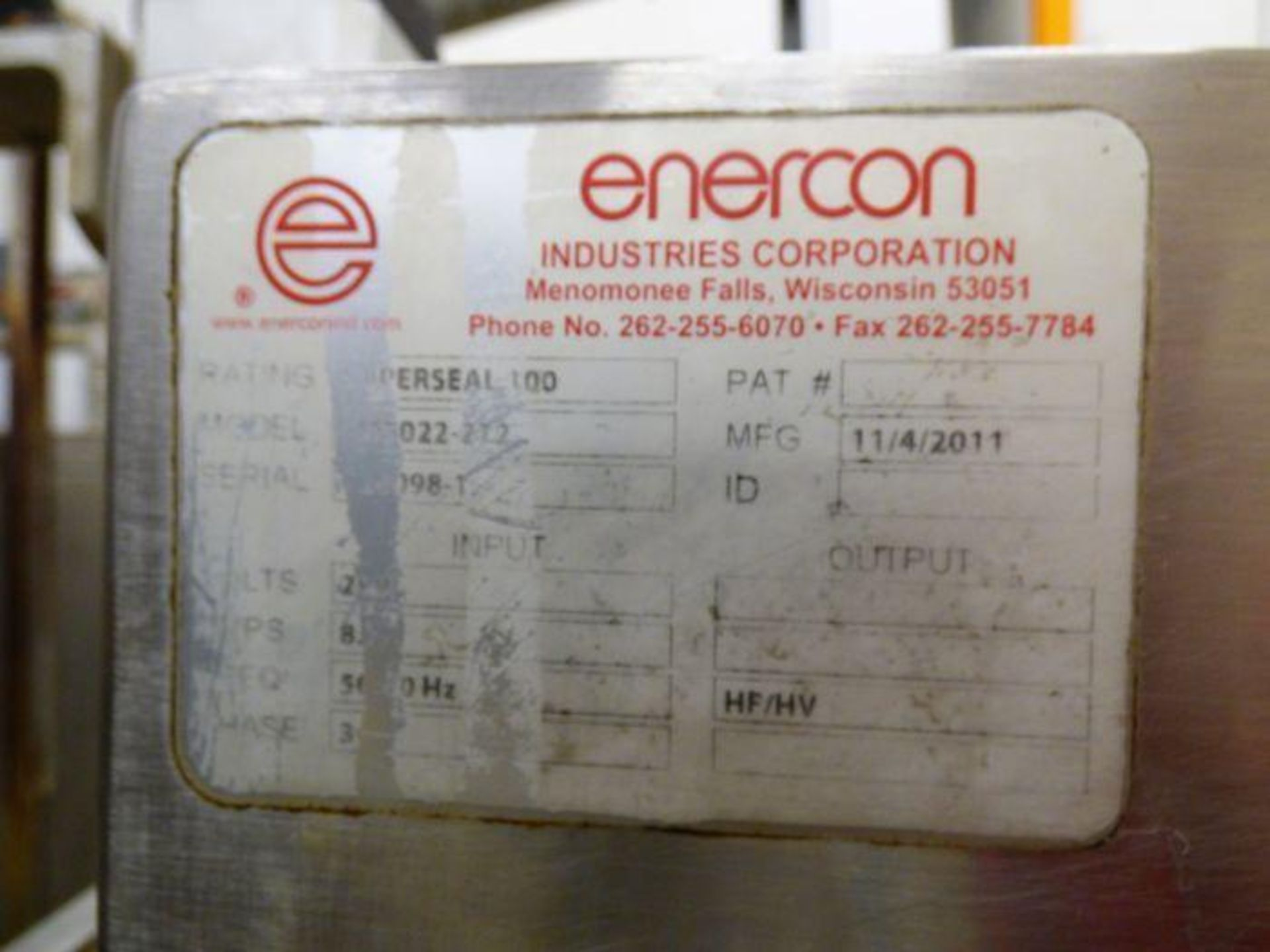 Enercon Super Seal Touch 100 with Spare Parts - Image 17 of 17