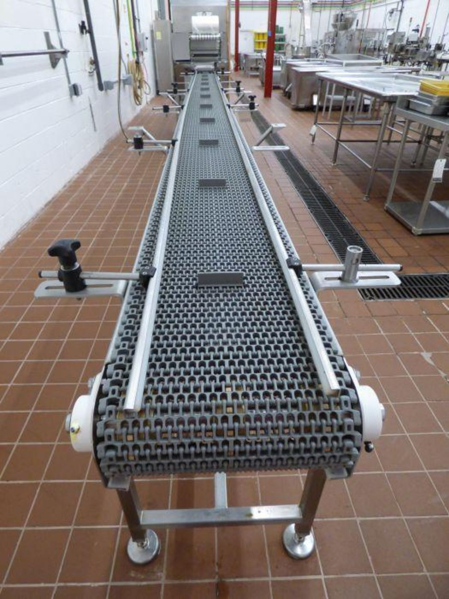 Lot 1113 - Stainless Steel Manual Packing Station