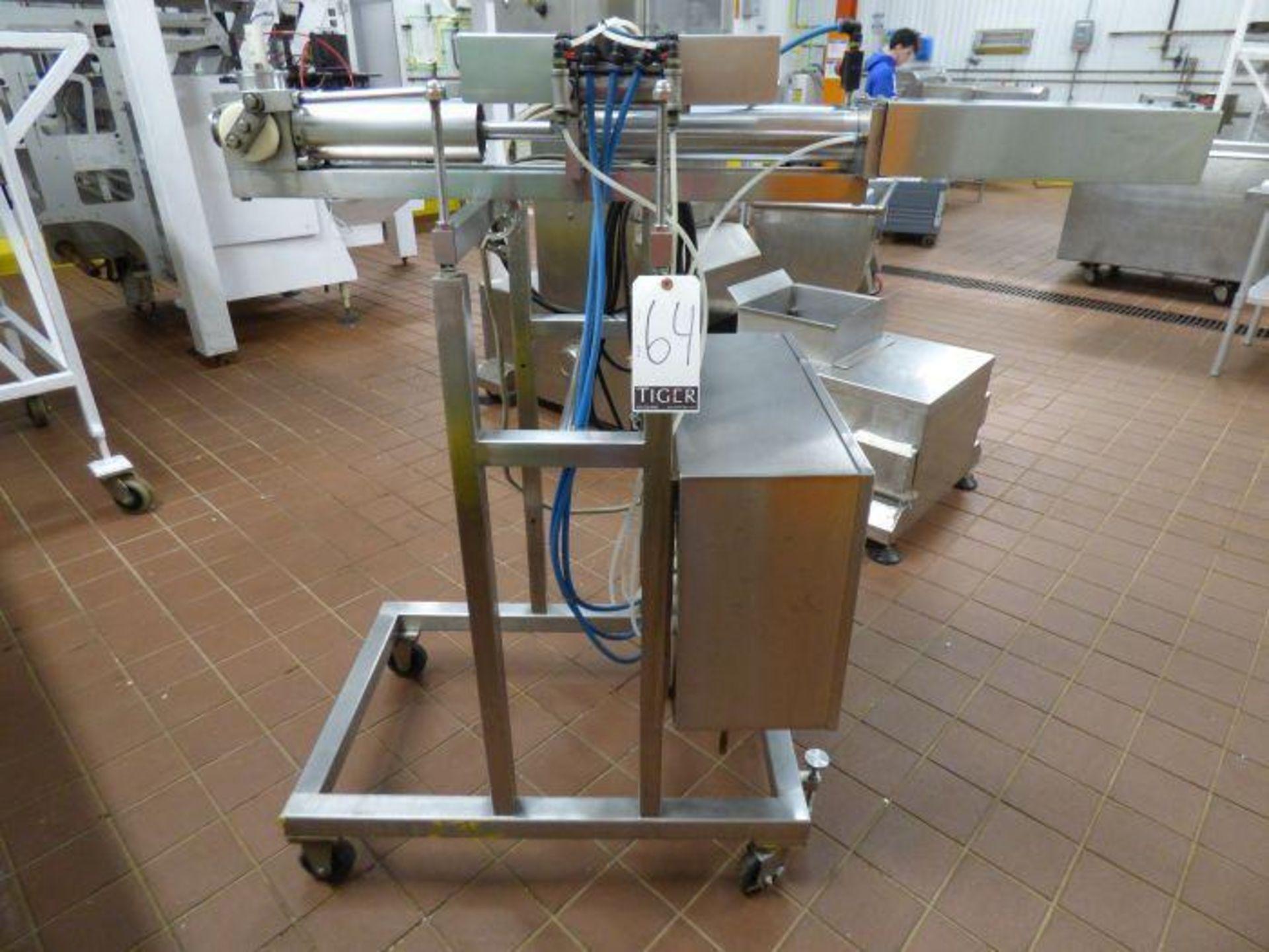 Lot 1074 - Autoprod Stainless Steel Horizontal Single Tube Piston Filler