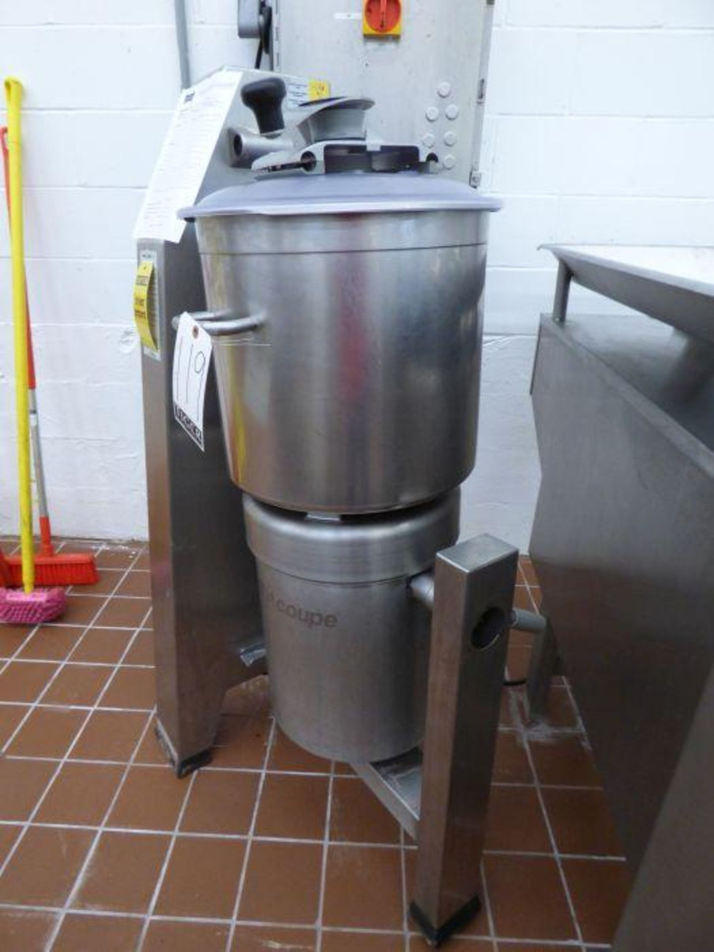 2014 Robot Coupe Vertical Cutter Mixer - Image 4 of 6