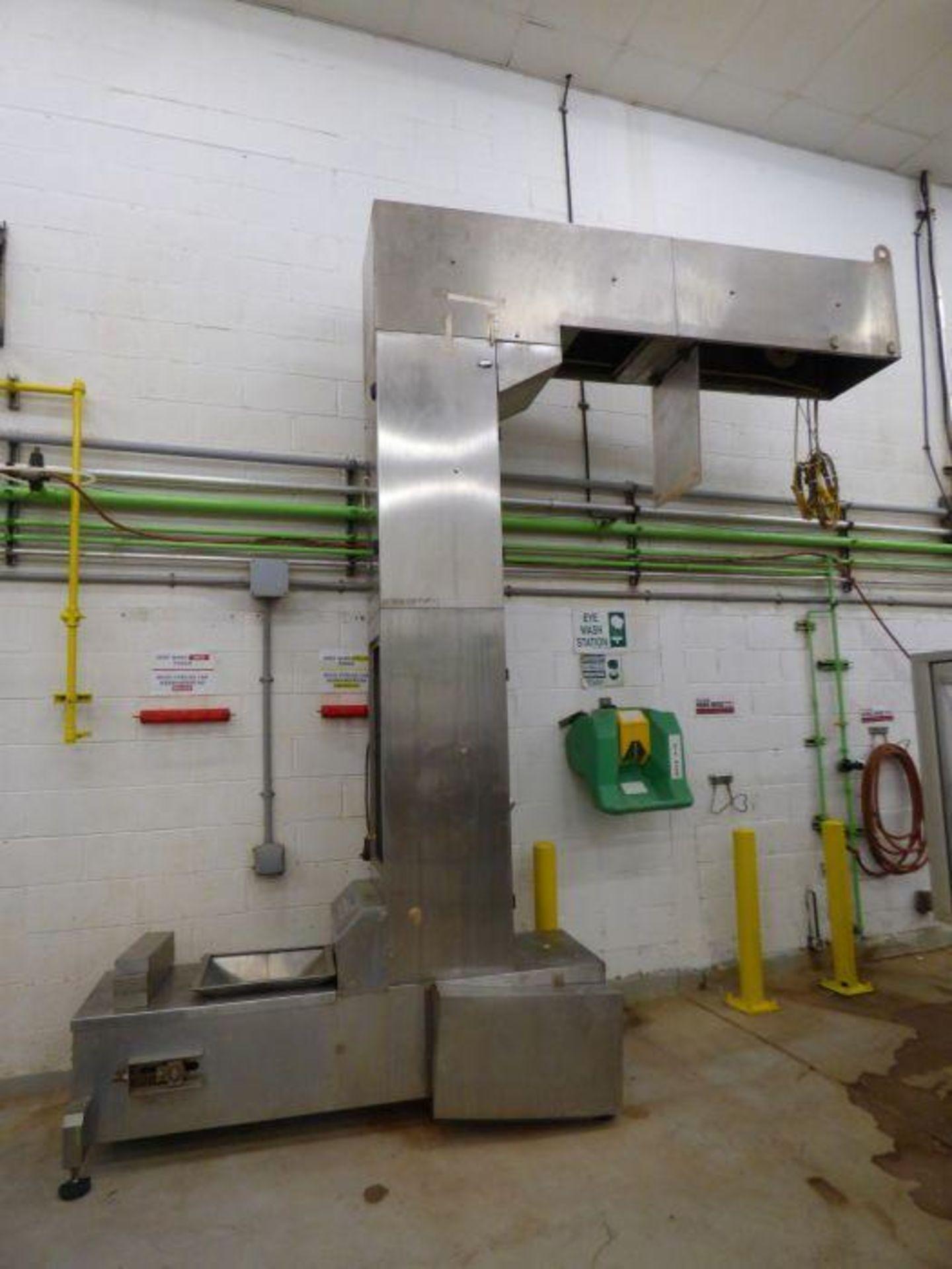 Ohlson Stainless Steel Bucket Elevator