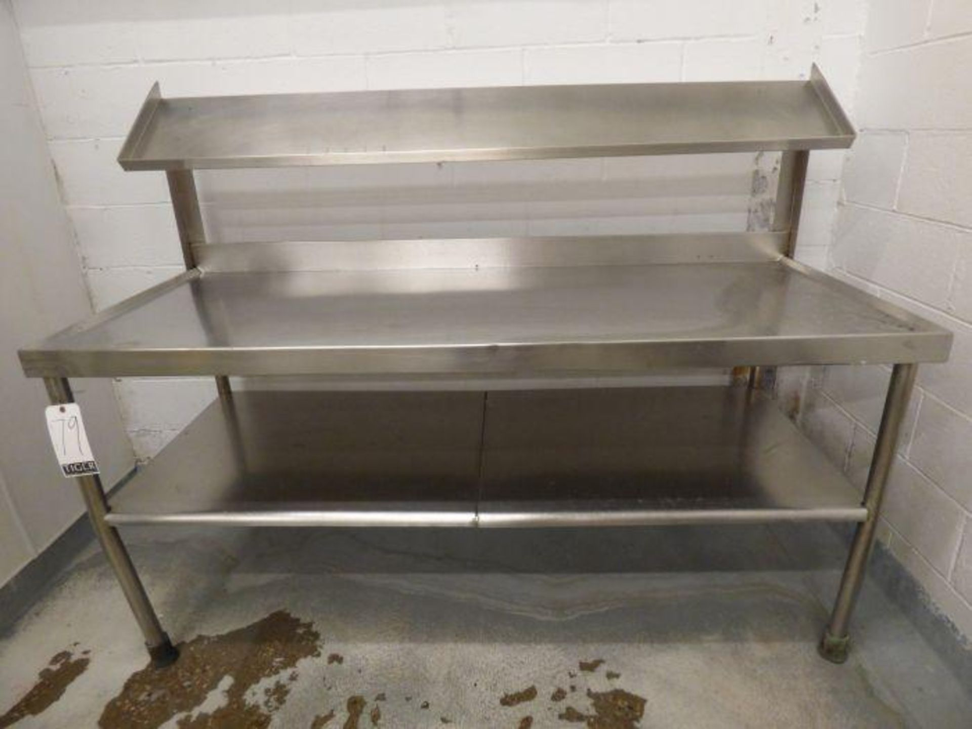 Lot 1079 - Stainless Steel Table
