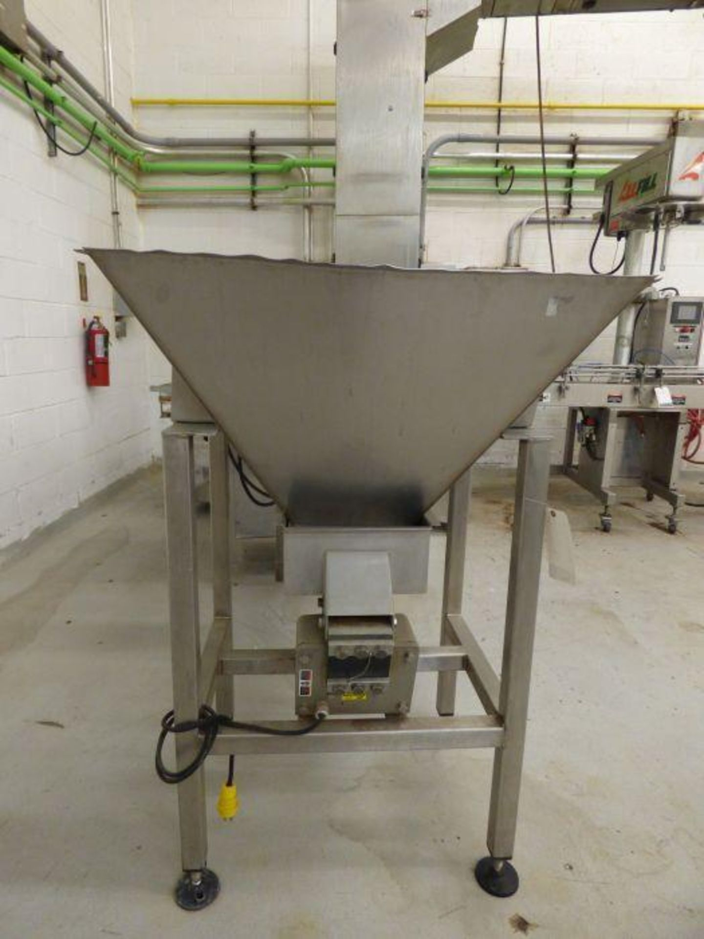Lot 1194 - 2016 Ohlson Stainless Steel Bucket Elevator