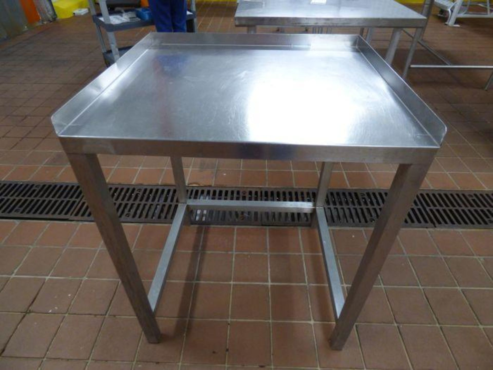 Lot 1059 - Stainless Steel Table