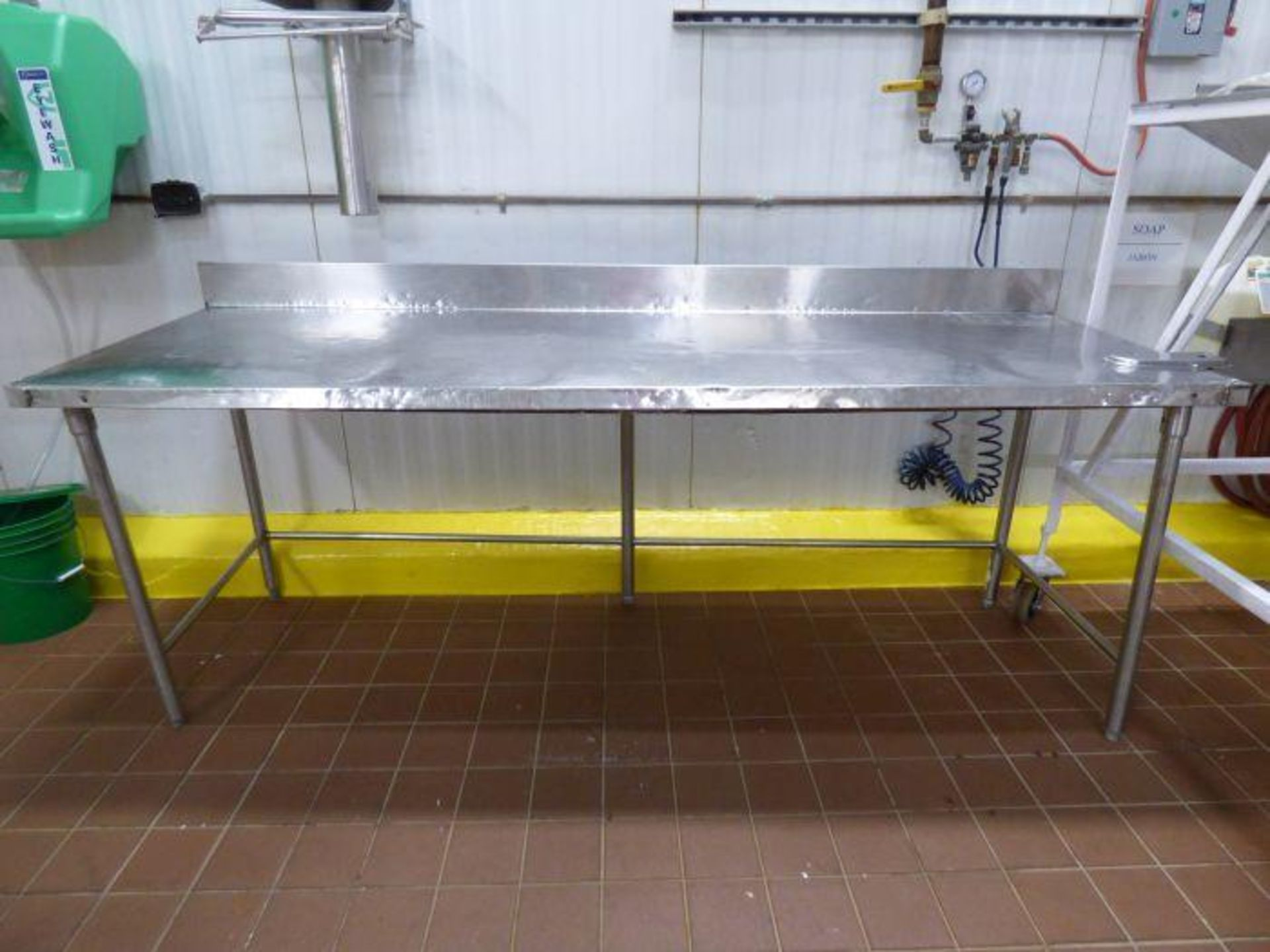 Lot 1069 - Stainless Steel Table