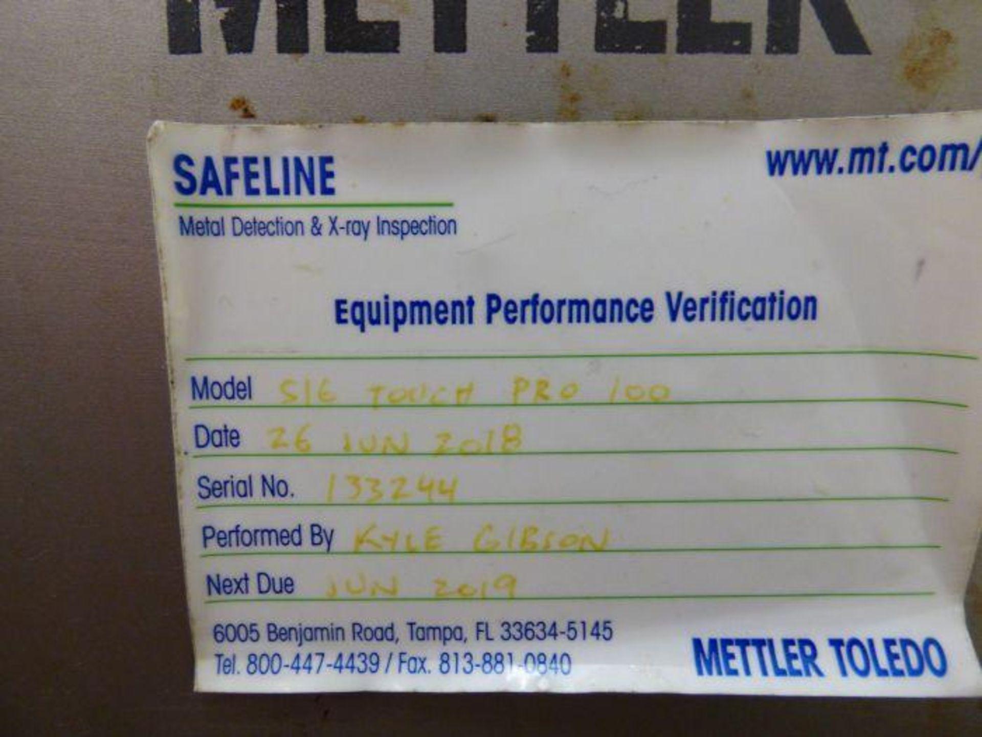 Lot 1115 - 2018 Mettler Toledo Stainless Steel Integrated In-Line Metal Detector