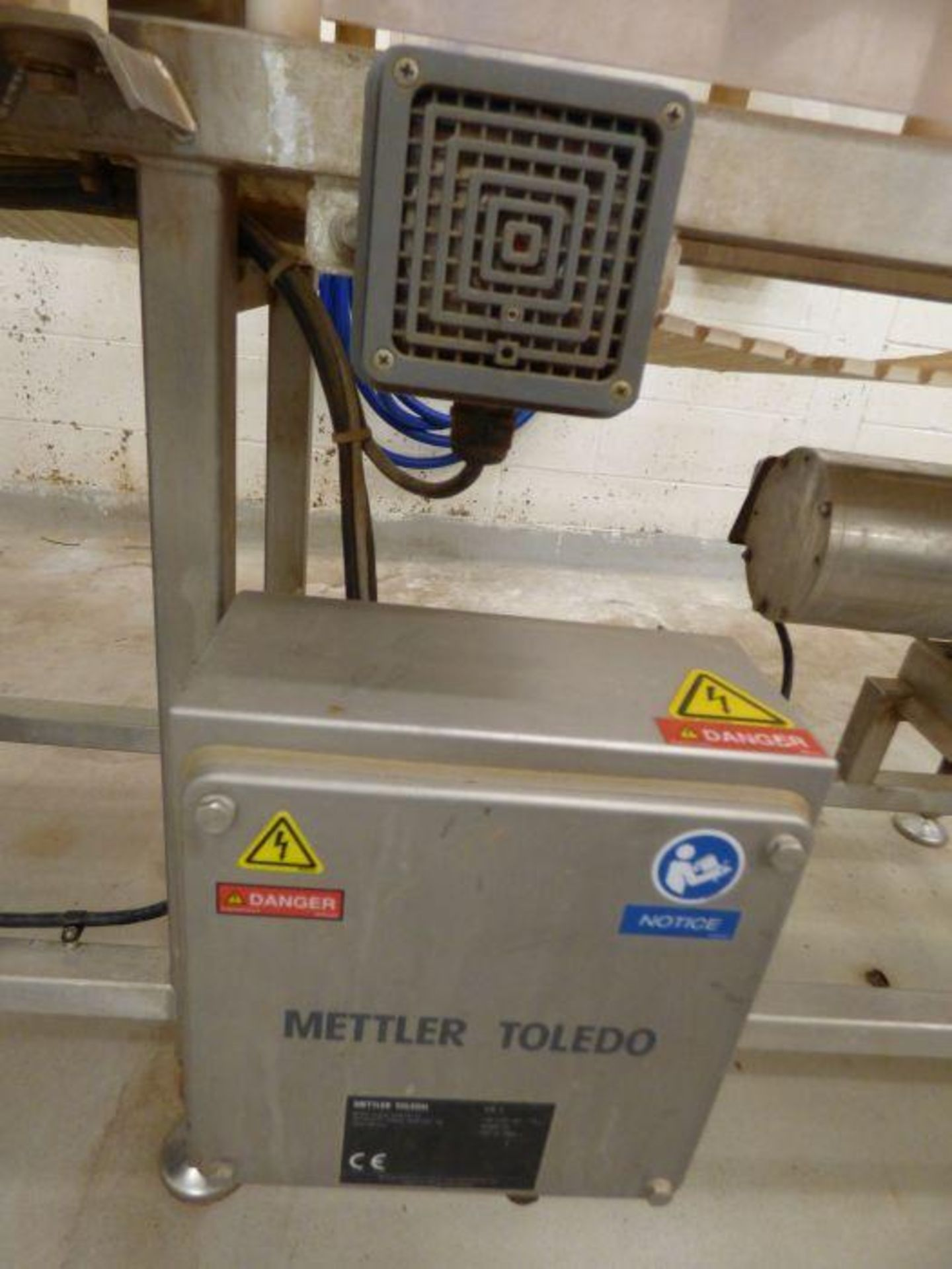 Lot 1195 - 2018 Mettler Toledo Stainless Steel Integrated In-Line Metal Detector