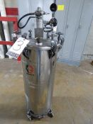 Graco Stainless Steel Pressure Vessel with Agitator