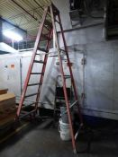 9-Step Fiberglass Ladder