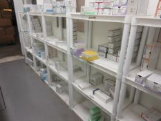 Assorted Plastic/Metal Shelving