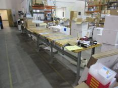 Assorted Work Benches and Tables