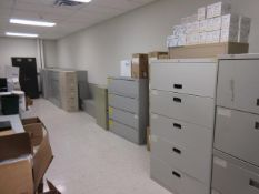 Assorted Filing Cabinets