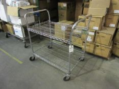 Metro 2-Shelf Wire Mesh Carts