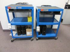 Uline Warehouse Computer Carts