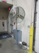 Assorted Pedestal Shop Fans-30in