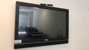 Monitor, Speaker and Camera