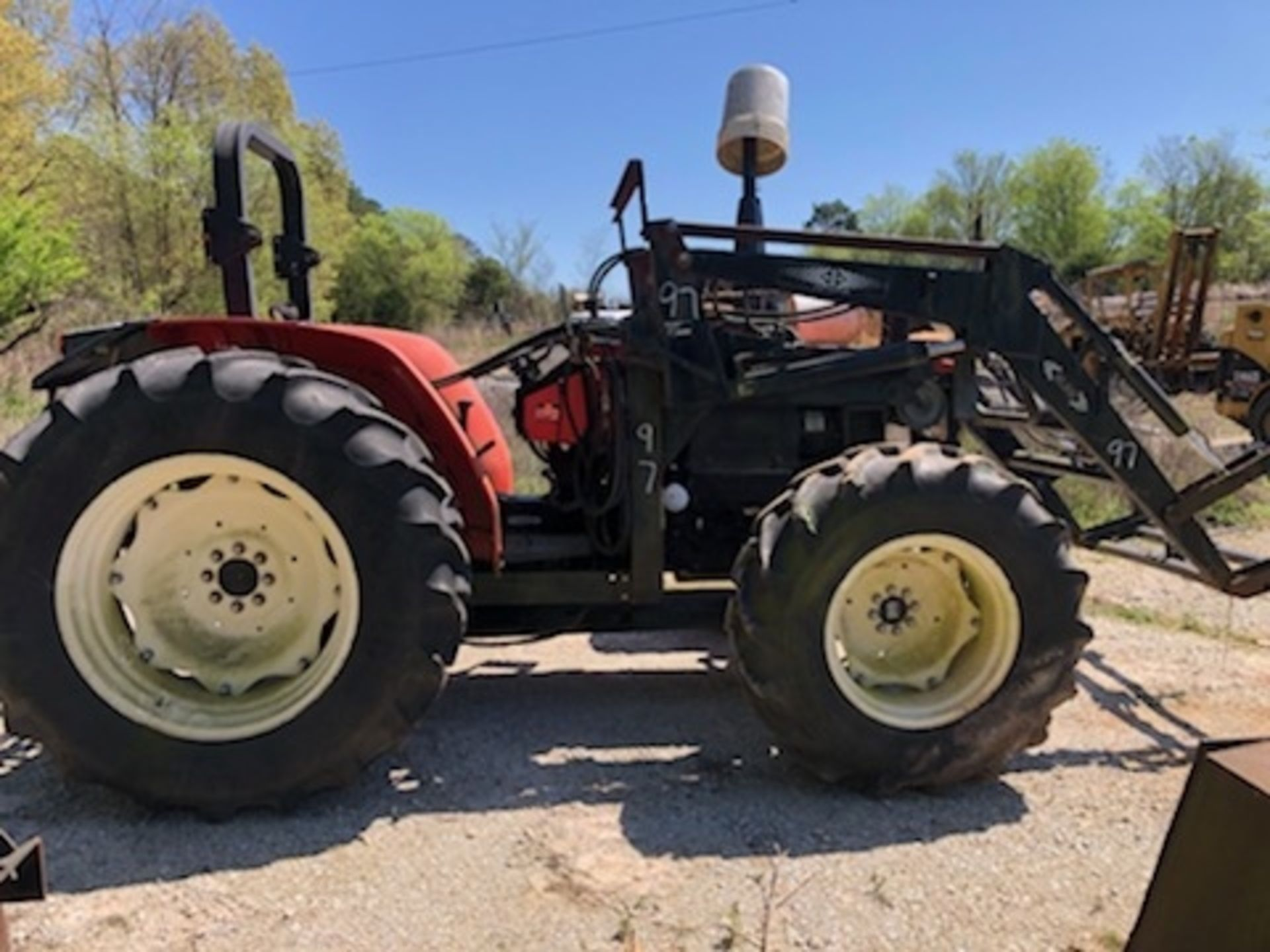 Lot 97 - SAME 4X4 FARM TRACTOR