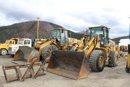 2008 Cat IT38 Wheel Loader, EROPS, c/w Bucket; S/N JNJ00245; Meter Shows 22,136 Hrs (Unit LD001);
