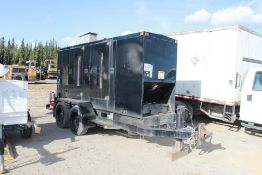 1999 Cat Mod XG125 Diesel Generator, 100KW; Skid mounted, Square D 200 & 60 Amp Switches;