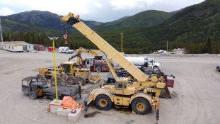 Grove RT735 Rough Terrain Crane, 35 Ton, 112' Max Height, Last Certified 2018; S/N 36158; Meter