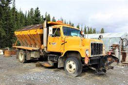 2001 International 2574 4x2 Plow Truck, Plow Attachment; 1HTGEAHR62H501944; Meter Shows 17,024; (