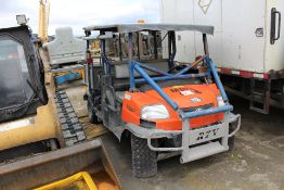 2017 Kubota RTV 1140 Utility Vehicle; S/N 36745; Meter Shows 3,430 Hrs; (Unit UV003); Not running;