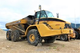 2007 Cat AT735 Articulated Rock Truck, 26.5R25 Tires; S/N B1N00691; Meter Shows 16,000 Hrs; (Unit