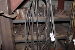 LOT OF WELDING CABLES